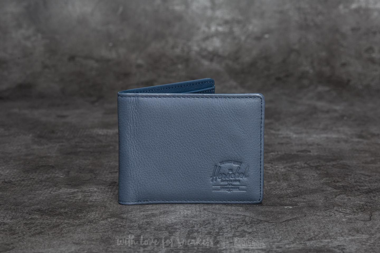 Herschel Supply Co. Hank+ Leather Wallet Navy