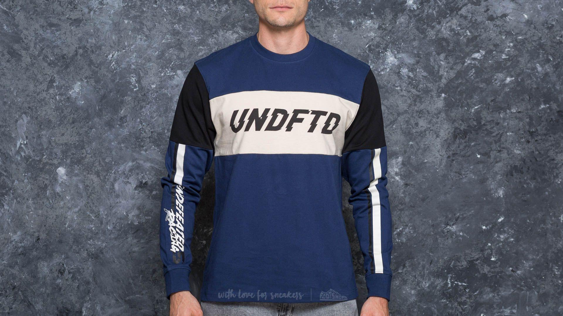 Undefeated Racer Longsleeve Jersey Blue