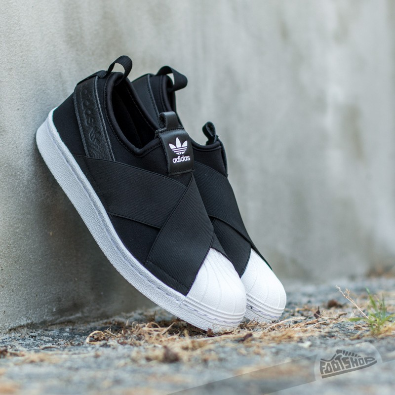 adidas superstar slip on uomo verde